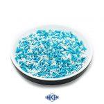 Glint Sugar Vermicelli Mix White and Blue