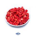 Jordbær - Størrelse -5x5x5mm - Tørret