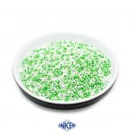 Glint Nonpareille Mix White and Green